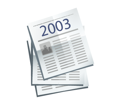Clipping de Prensa escrita del Valle de los Neandertales 2003. Pinilla del Valle