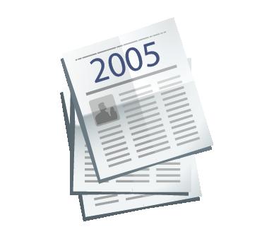Clipping de Prensa escrita del Valle de los Neandertales 2005. Pinilla del Valle