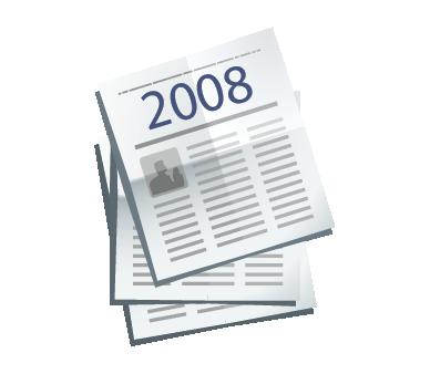 Clipping de Prensa escrita del Valle de los Neandertales 2008. Pinilla del Valle